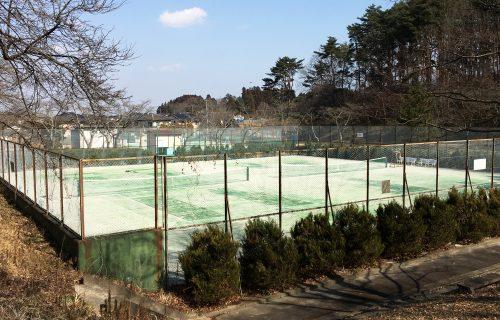 朝日山公園テニスコート